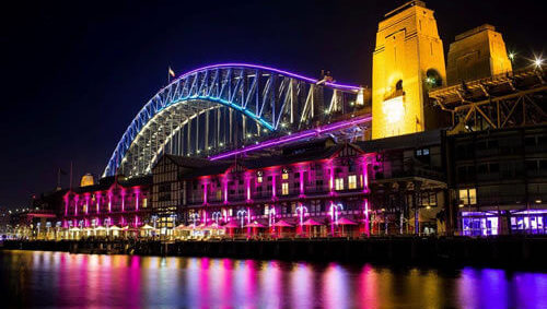 harbour-spirit-vivid-sydney-cruise-harbour-bridge