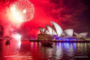boat charter - fireworks