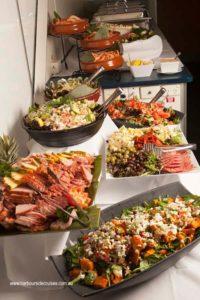 harbourside cruises - buffet dinner