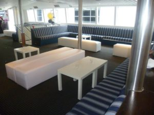 Harbourside Cruises NYE Event ottomans