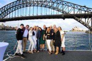 Harbour Spirit Sydney front deck & harbour views