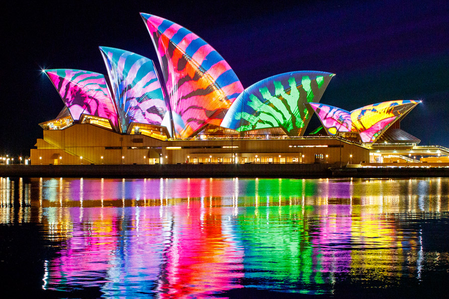 6 Reason's Why You Should Experience Vivid Sydney 2019 by Harbour Cruise