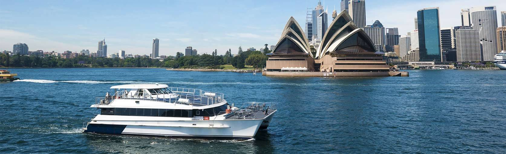 BUFFET LUNCH CRUISE ON SYDNEY HARBOUR