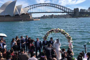 Wedding Cruise Sydney 61
